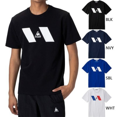 ルコックスポルティフ メンズ 半袖Tシャツ トップス フィットネス トレーニングウェア カジュアルウェア QLMQJA01