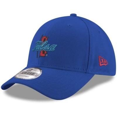 ユニセックス スポーツリーグ アメリカ大学スポーツ Tulsa Golden Hurricane New Era Hyper 9FORTY Adjustable Hat - Royal - OSFA
