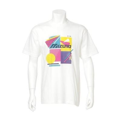 ミズノ公式 半袖Tシャツ ユニセックス ホワイト