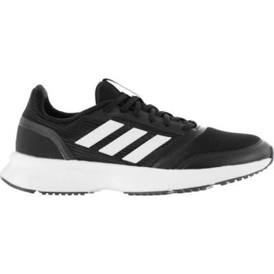 アディダス adidas メンズ スニーカー シューズ・靴 Nova Flow Cloudfoam Trainers Black/White