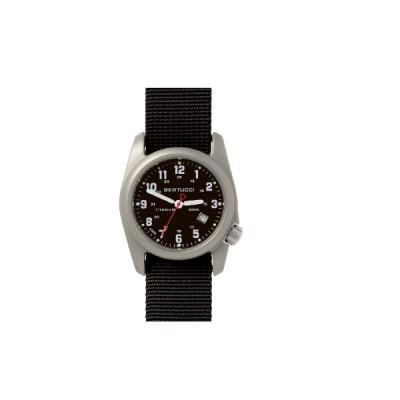 腕時計 BERTUCCI ベルトゥッチ 12022 DX3 A-2Tクラシック ミリタリー チタンケース ブラック アメリカ ミルスペック