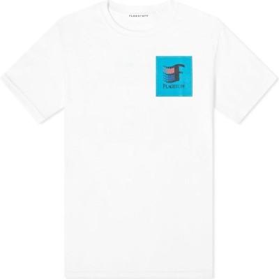 フラグスタフ Flagstuff メンズ Tシャツ トップス 93 Tee White
