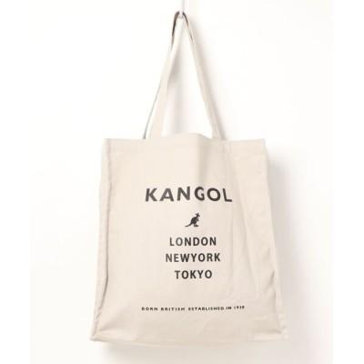 Parks TOKYO / 【KANGOL/カンゴール】マチ付き キャンバス プリント トートバッグ MEN バッグ > トートバッグ
