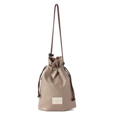 ESPERANZA / シンプル巾着ショルダーバック WOMEN バッグ > ショルダーバッグ