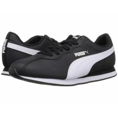 プーマ メンズ スニーカー シューズ Turin II Puma Black/Puma White