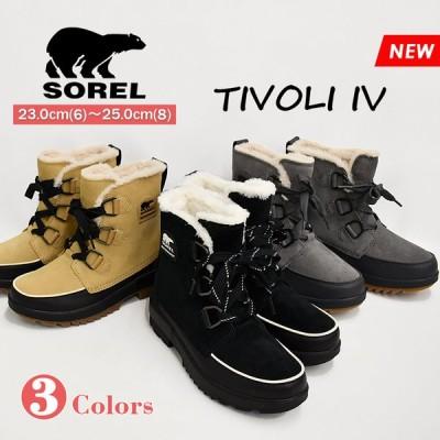 SOREL ソレル ティボリ4 ショートブーツ ホワイトデー レースアップ 防水 ブーツ レディース スノーブーツ 防寒 通勤 アウトドア チボリ4 TIVOLI IV NL3425