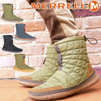 メレル MERRELL メンズ ブーツ ハット モック ミッド 軽量 J002101 オリーブ J002099 ネイビー J001957 ブラック 黒 J002103 バターナッツ