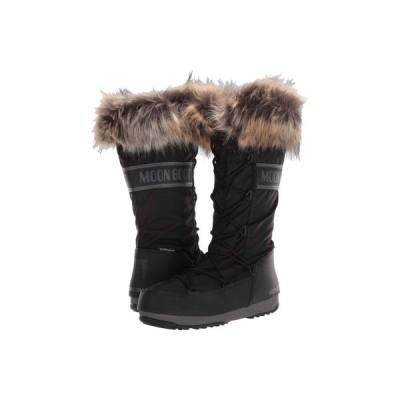 ムーンブーツ MOON BOOT レディース ブーツ シューズ・靴 Moon Boot Monaco WP 2 Black