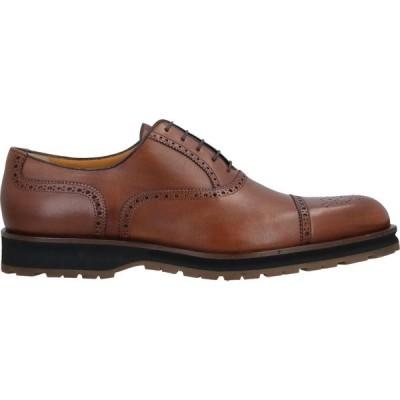 ア テストーニ A.TESTONI メンズ 革靴・ビジネスシューズ シューズ・靴 Laced Shoes Tan
