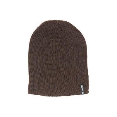 ハーレー 帽子 ハット ビーニー ニット帽 Hurley - Hurley ビーニー - Shiphsape 2.0 - ブラウン ワンサイズ