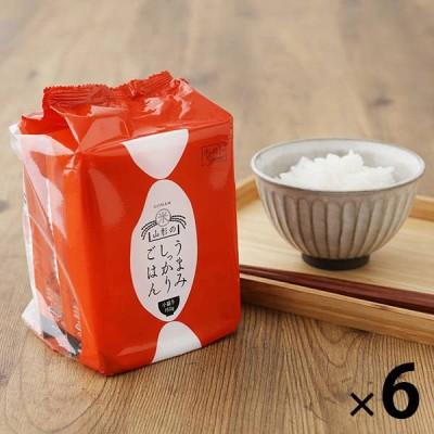 パックごはん 18食【LOHACO限定】山形のうまみしっかりごはん 小盛り 150g 3食×6袋(18食入) 米加工品  包装米飯