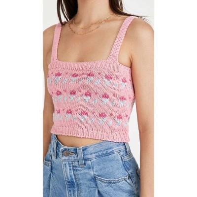 タク クロージング Tach Clothing レディース ニット・セーター トップス Mayra Knit Top Pink
