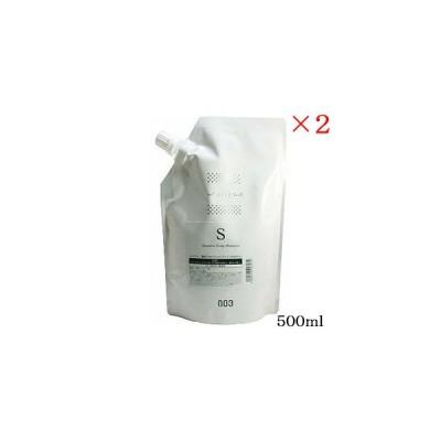 ナンバースリー 003 ミュリアム 薬用 スカルプ シャンプー S 500ml レフィル 詰替用 ×2セット (医薬部外品)