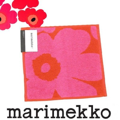 マリメッコ Marimekko タオル ハンカチ ミニタオル 花柄 ハンドタオル 北欧 新作 新品 正規品 ギフトも♪