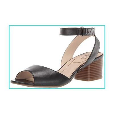 LifeStride Women's Rosetta Heeled Sandal, Black, 7.5 W US【並行輸入品】