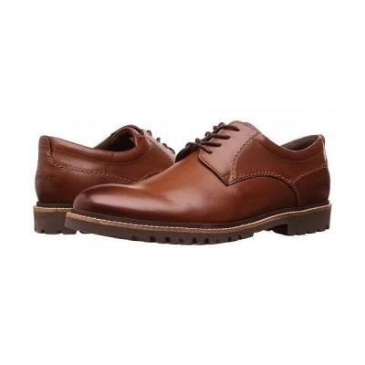 Rockport ロックポート メンズ 男性用 シューズ 靴 オックスフォード 紳士靴 通勤靴 Marshall Plain Toe Oxford - Dark Brown