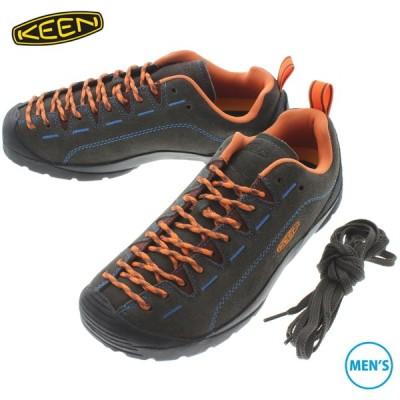キーン KEEN メンズ スニーカー ジャスパー JASPER ブラックオリーブ/ネクタリン 1024718