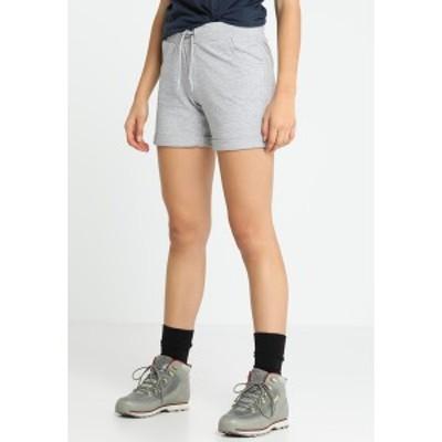 シーエムピー レディース カジュアルパンツ ボトムス WOMAN BERMUDA - Sports shorts - grigio melange grigio melange