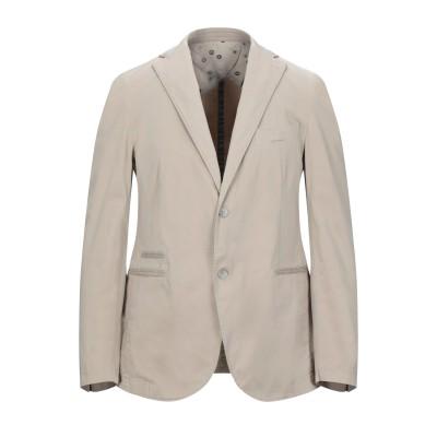 BARBATI テーラードジャケット ベージュ 52 コットン 98% / ポリウレタン 2% テーラードジャケット