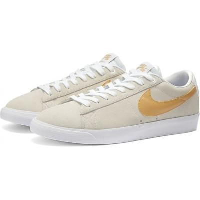ナイキ Nike SB メンズ スニーカー シューズ・靴 zoom blazer low gt White/Club Gold/Thistle