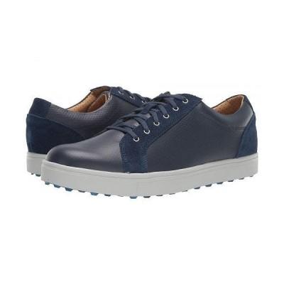 FootJoy フットジョイ メンズ 男性用 シューズ 靴 スニーカー 運動靴 Club Casual Blucher - Navy