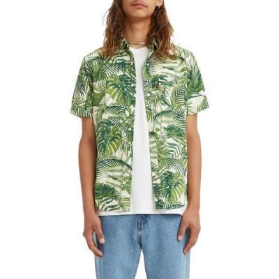 リーバイス メンズ シャツ トップス Levi's Men's Sunset Short Sleeve Button Down Shirt