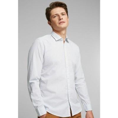 エスプリ メンズ シャツ トップス Shirt - white white