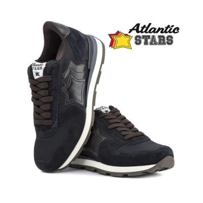 【即出荷】Atlantic STARS スニーカー Antares Black C  40サイズ(25.5cm〜26cm) 在庫限り