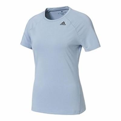 アディダス(adidas) ウィメンズ D2M トレーニング ベーシック半袖Tシャツ BXJ01 BK2692 タクティルブルー OT