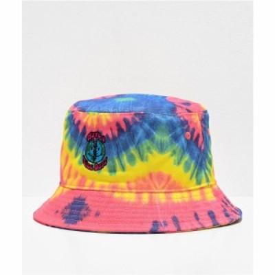 ティーンエイジ TEENAGE メンズ ハット バケットハット 帽子 Teenage Nice Swirl Tie Dye Bucket Hat Antique sandblast