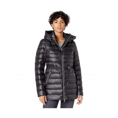MACKAGE レディース 女性用 ファッション アウター ジャケット コート ダウン・ウインターコート Ivy Sateen Lightweight Down Puffer Coat - Black