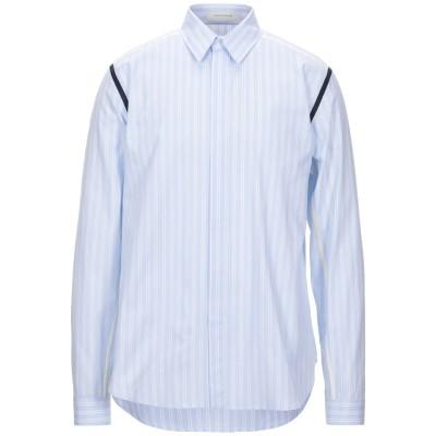 セドリック シャルリエ CEDRIC CHARLIER シャツ スカイブルー XS コットン 100% シャツ