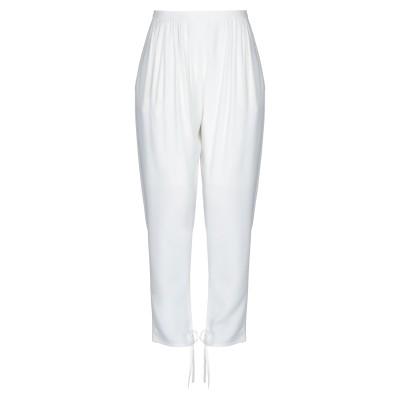 クロエ CHLOÉ パンツ ホワイト 36 アセテート 53% / レーヨン 47% / シルク パンツ