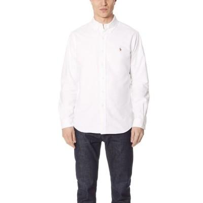 ラルフ ローレン Polo Ralph Lauren メンズ シャツ トップス Standard Fit Oxford Sport Shirt White