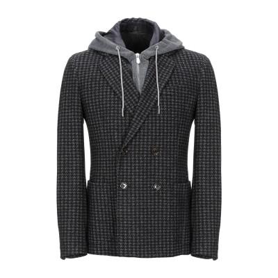 イレブンティ ELEVENTY テーラードジャケット スチールグレー 52 バージンウール 56% / コットン 44% テーラードジャケット
