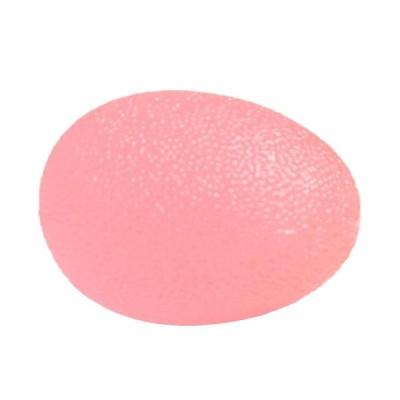 グリップボール 指手のひら運動 握り 強さボール 握り練習 3タイプ選べる - ピンク 中程度の硬さ