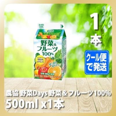 農協 野菜Days 野菜&フルーツ100% 500ml(雪メグ)[T8]