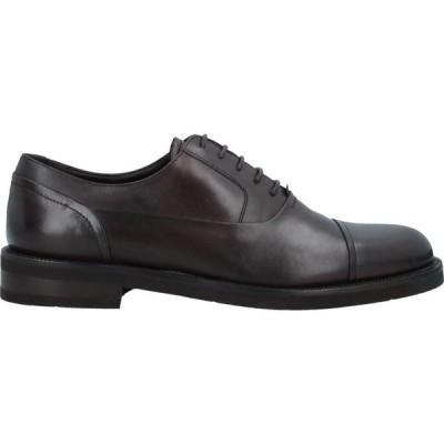 ネルソン NELSON メンズ 革靴・ビジネスシューズ シューズ・靴 Laced Shoes Dark brown