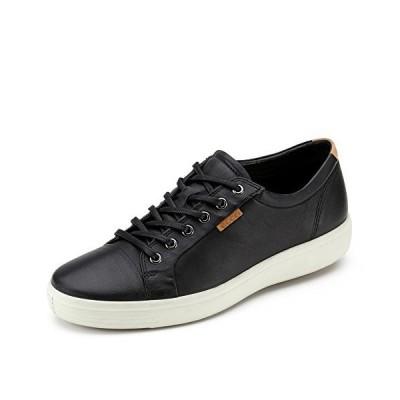 ECCO Men's Soft 7 Tie Fashion Sneaker Black 46 EU / 12-12.5 US 並行輸入品