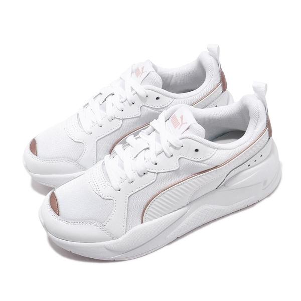 Puma 休閒鞋 X-Ray Metallic Wns 白 金 女鞋 復古慢跑鞋 老爹鞋 運動鞋 【ACS】 37307202