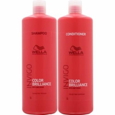 ウエラ インヴィゴ カラーブリリアンス シャンプー&コンディショナー ボトル セット / 1000mL+1000mL