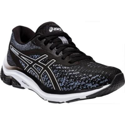 アシックス スニーカー シューズ レディース GEL-Pulse 12 Running Sneaker (Women's) Black/Gray/Black