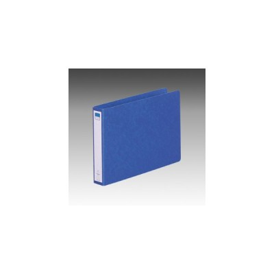 リヒトラブ リングファイル<ツイストリング> 背幅35mm B5判ヨコ型(藍)