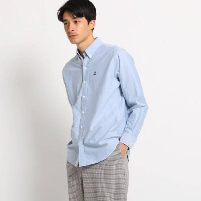 デッサン Dessin ヨットオックスフォードボタンダウンシャツ (ライトブルー)