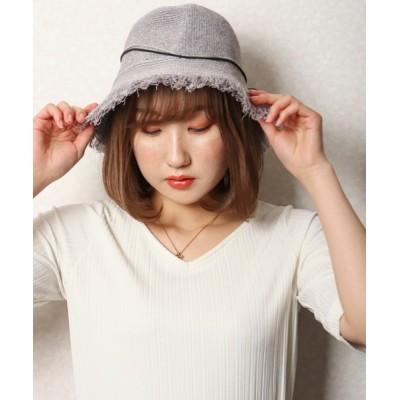 FUNALIVE / 【je crois soi】フリンジバケットハット womens WOMEN 帽子 > ハット