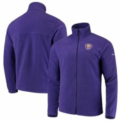 Columbia コロンビア スポーツ用品  Columbia Orlando City SC Purple Flanker Full-Zip Jacket