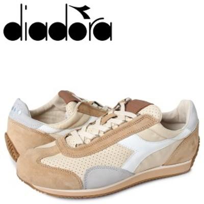 ディアドラ Diadora エキップ イタリア スニーカー メンズ イタリア製 EQUIPE ITALY ベージュ 176046