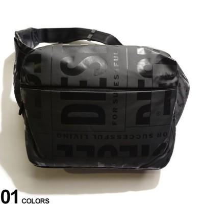 DIESEL ディーゼル ランダムロゴ ビッグ ウエストバッグ ブランド メンズ バッグ 鞄 ボディバッグ ウエストポーチ DSX07796P3893