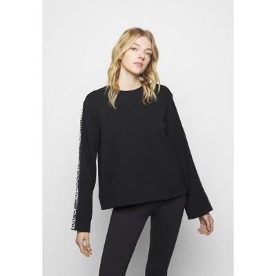フューゴ パーカー・スウェットシャツ レディース アウター DALARA - Sweatshirt - black