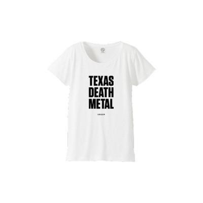 tシャツ Tシャツ UNGER by KLON TEXAS DEATH METAL (WOMENS WHITE)
